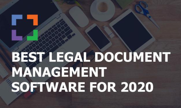Comprehensive guide on Legal document management software